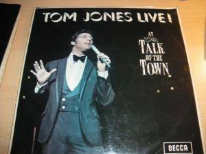 Tom Jones: Live At Talk Of The Town - Cover