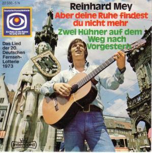 Cover - Reinhard Mey: Aber Deine Ruhe Findest Du Nicht Mehr