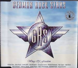 German Rock Stars: Wings Of Freedom (Michael Voss, Doro Pesch, Lenny Wolf, Jean Beauvoir, Fernando Garcia, Michael Bormann, Mat Sinner, Andi Deris, Ralf Scheepers U.A.) (Single-CD) - Bild 1