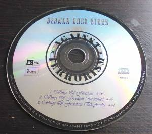 German Rock Stars: Wings Of Freedom (Michael Voss, Doro Pesch, Lenny Wolf, Jean Beauvoir, Fernando Garcia, Michael Bormann, Mat Sinner, Andi Deris, Ralf Scheepers U.A.) (Single-CD) - Bild 3