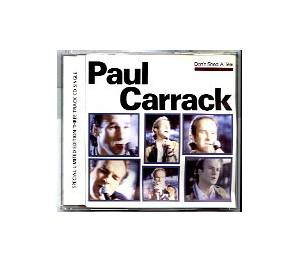 Paul Carrack: Don't Shed A Tear - Cover