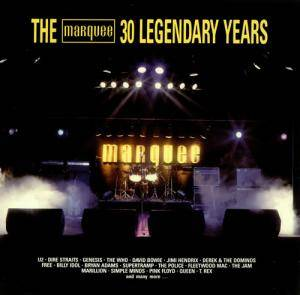 Marquee - 30 Legendary Years, The - Cover