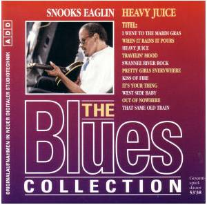 Cover - Snooks Eaglin: Blues Collection - Heavy Juice, The