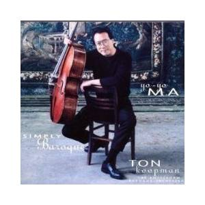 Cover - Yo-Yo Ma: Simply Baroque
