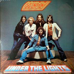 Moxy: Under The Lights - Cover