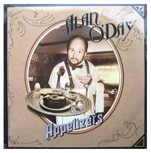 Alan O'Day: Appetizers - Cover