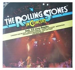 The Rolling Stones: In Concert - Cover