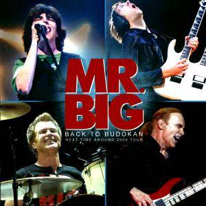Mr. Big: Back To Budokan - Cover