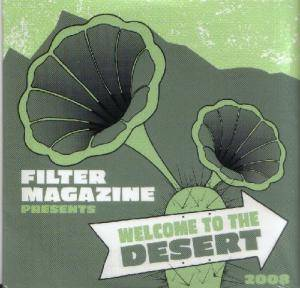 Cover - Kristoffer Ragnstam: Filter Magazine presents Welcome to the Desert 2008