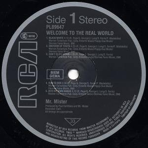 Mr. Mister: Welcome To The Real World (LP) - Bild 4
