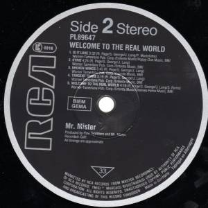 Mr. Mister: Welcome To The Real World (LP) - Bild 6