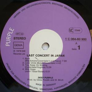 Deep Purple: Last Concert In Japan (LP) - Bild 3
