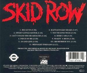Skid Row: Skid Row (CD) - Bild 2