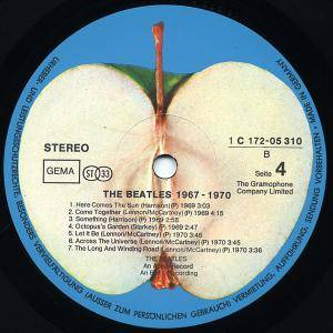 The Beatles: 1967-1970 (2-LP) - Bild 7