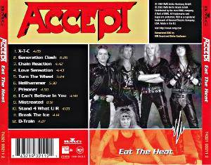Accept: Eat The Heat (CD) - Bild 4