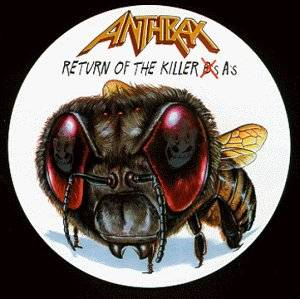 Anthrax: Return Of The Killer A's - Cover
