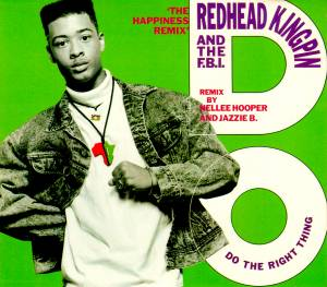 Cover - Redhead Kingpin & The F.B.I.: Do The Right Thing