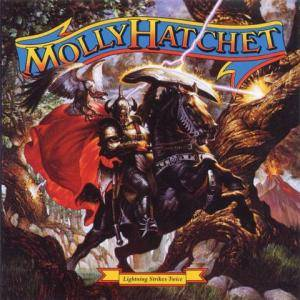 Cover - Molly Hatchet: Lightning Strikes Twice