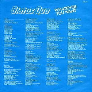 Status Quo: Whatever You Want (LP) - Bild 2