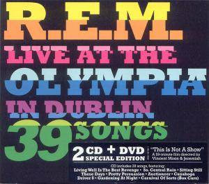 R.E.M.: Live At The Olympia - Cover