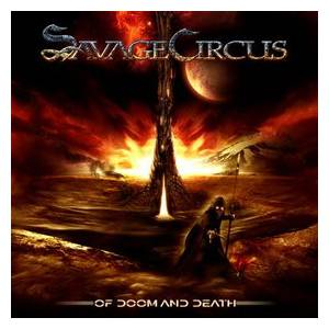 Savage Circus: Of Doom And Death - Cover