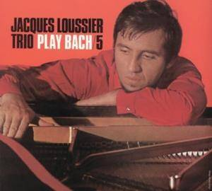 Jacques Loussier Trio: Play Bach No. 5 - Cover