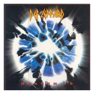 Def Leppard: Heaven Is - Cover