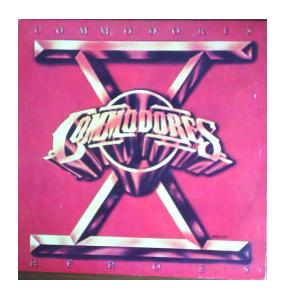 Commodores: Heroes - Cover