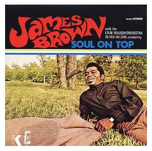 James Brown: Soul On Top - Cover