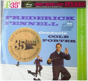 Cover - Cole Porter: Frederick Fennell Conducts Cole Porter