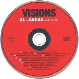 Visions All Areas - Volume 109 (CD) - Bild 5