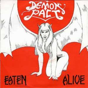 Demon Pact: Eaten Alive - Cover