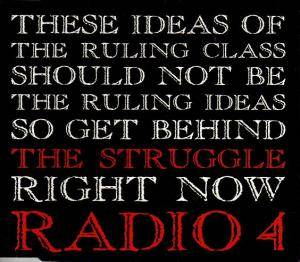 Cover - Radio 4: Struggle