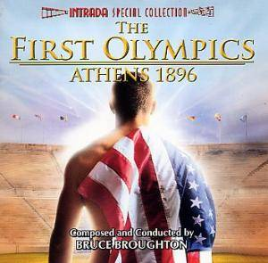Cover - Bruce Broughton: First Olympics - Athens 1896, The