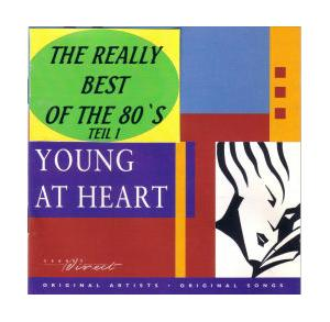 Young At Heart - The Really Best Of The 80's  Teil 1 - Cover