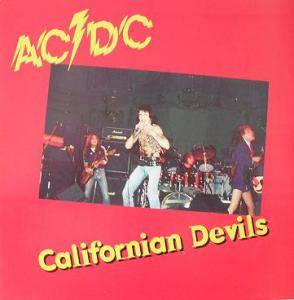 AC/DC: Californian Devils - Cover