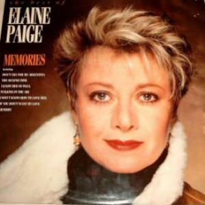 Elaine Paige: Memories: The Best Of Elaine Paige - Cover