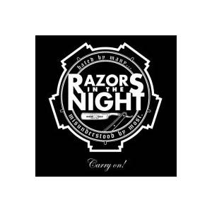 Razors In The Night: Carry On! - Cover