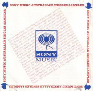 Sony Music Australian Singles Sampler - Cover