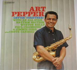 Art Pepper: Gettin' Together - Cover