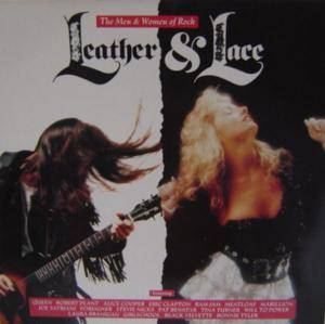 Leather & Lace - Cover
