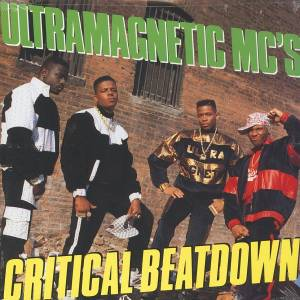 Ultramagnetic MC's: Critical Beatdown - Cover