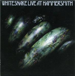 Whitesnake: Live At Hammersmith - Cover