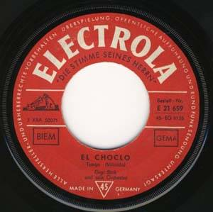 Cover - Joe Loss & His Orchestra: El Choclo / Pasodoble