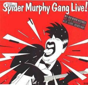 Cover - Spider Murphy Gang: Live!