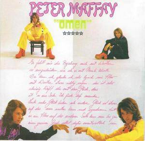 Cover - Peter Maffay: Omen