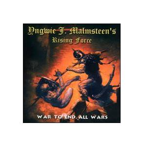 Yngwie J. Malmsteen's Rising Force: War To End All Wars - Cover