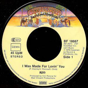 "KISS: I Was Made For Lovin' You (7"") - Bild 3"