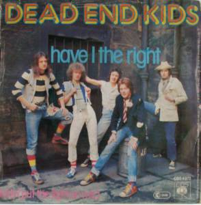 Dead End Kids: Have I The Right - Cover