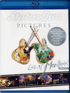 Status Quo: Pictures - Live At Montreux 2009 - Cover